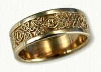 Avonmore Knot Wedding Rings