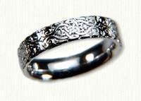 Lensiedel Knot Wedding Bands - NO Rails